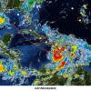 Tropical Storm Isaac Shifting West Image