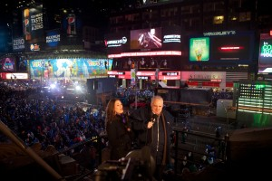 John Heald Live in Times Square