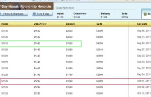 NCL Pricing on Pride of America