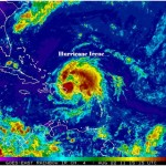 Hurricane Irene Cruise Satellite
