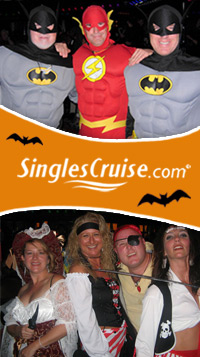 SinglesCruise.com Hosts Share Top Five Tips for Winning their Halloween Costume Contest at Sea