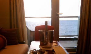 Champagne at Sea Photo