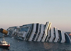 Costa Concordia Cruise Ship Capsized Photo