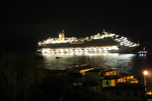 Costa Concordia Has To Be Evacuated Off The Coast Of Italy
