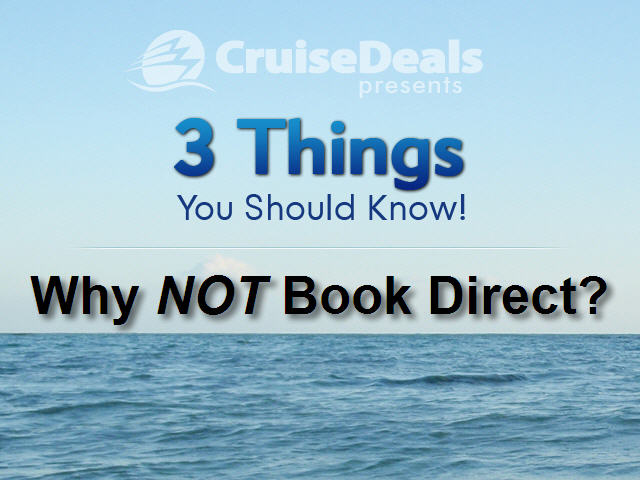 Cruise Deals Answers:  Why Use a Travel Agent?