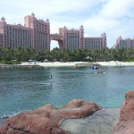 Paddle Boarding at Atlantis