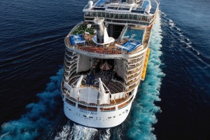 The Royal Caribbean Oasis of the Seas