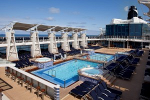 Celebrity Eclipse Pool Deck