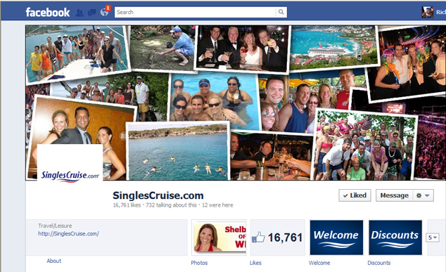 Singles Cruise Facebook Cover Photo
