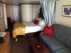 Deluxe Family Oceanview with Balcony--Room for Five!