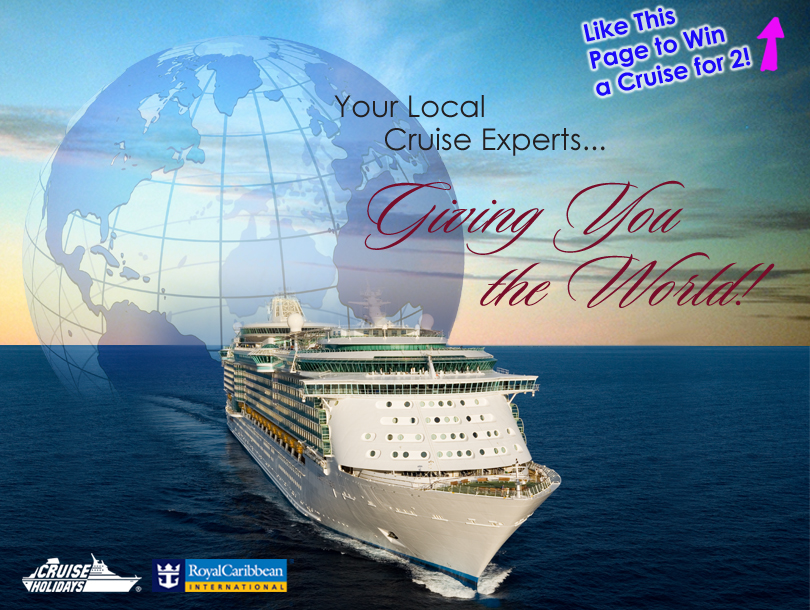 Local Cruise Experts Launch Free Cruise for 2 Giveaway