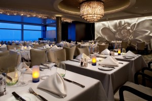 Guests in Aqua Class staterooms receive exclusive access to the restaurant Blu.