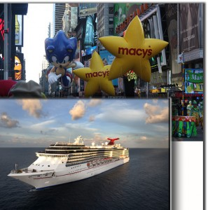Macys Thanksgiving Day Parade plus Bahamas Cruise