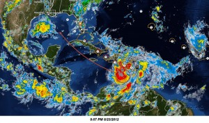 Tropical Storm Isaac West Photo