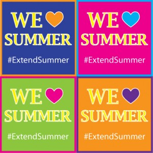 #ExtendSummer - We Love Summer