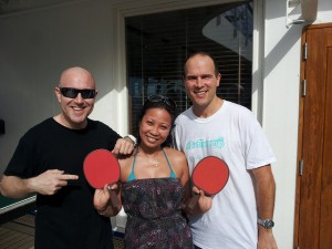 Ping Pong Photo Norwegian Sky