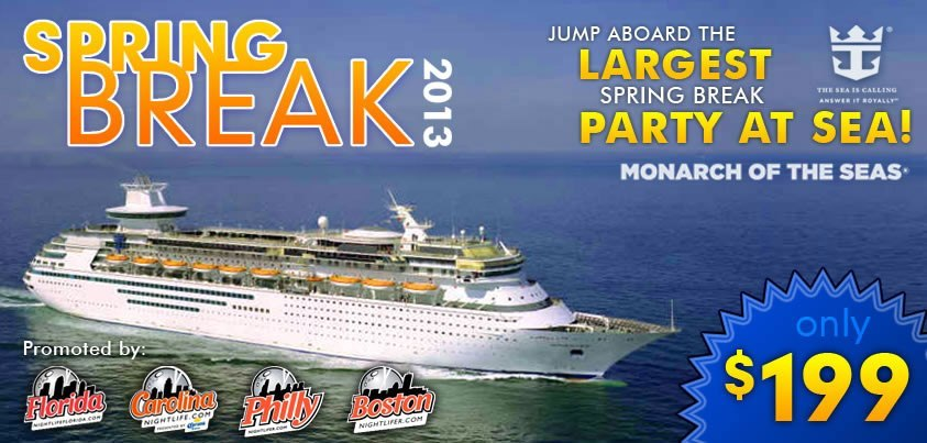 4th Annual Spring Break Party Cruise in 2013