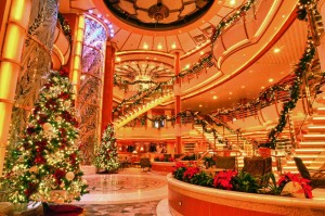 Decked out for the holidays on Princess Cruises
