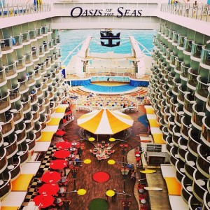 Oasis of the Seas Boardwalk