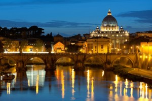 Vatican and Tiber River