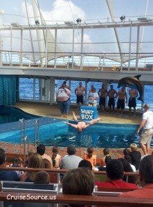 Dolphin Pool on Cruise Ship final
