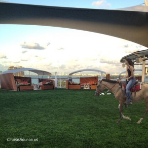 Horse Back Riding on Celebrity Lawn Club