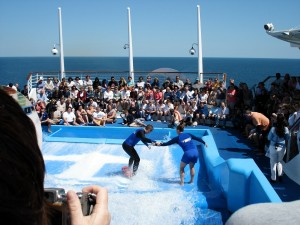 Captain Surfing Flowrider