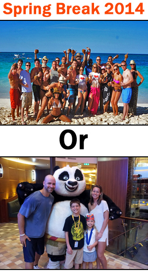 2014 Spring Break Cruise Guide: Family vs. Party Cruise