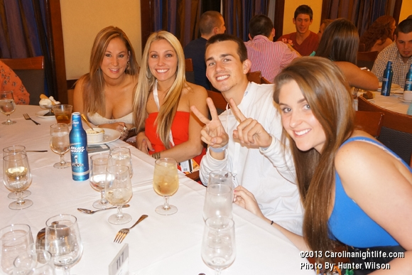 Dinner on Spring Break Party Cruise