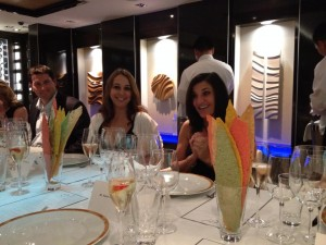 diners at Norwegian Cruise Line's Chef's Table