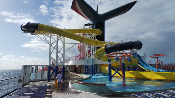 Carnival Fascination Water Slide photo