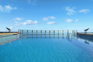 The Infinity Pool on the MSC Divina
