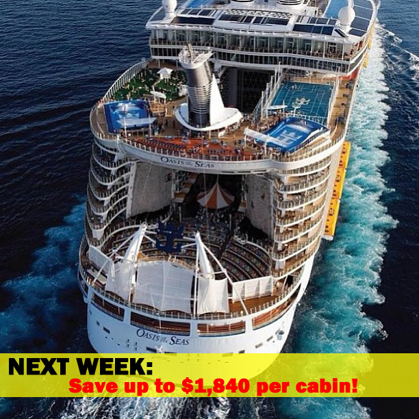 Royal Caribbean Spring Cruise Price Drops CruiseSource - Oasis of the seas cruise ship prices
