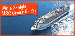 How to win a free cruise