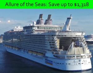 Allure of the Seas Going Going Gone