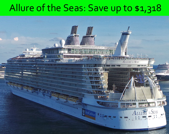 Royal Caribbean GGG sale: Save up to $1,318 on Allure