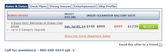 Carnival Freedom Sale Price - CLICK NOW!