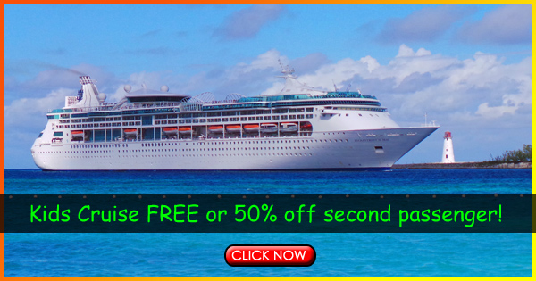 Kids Cruise Free or 50% off