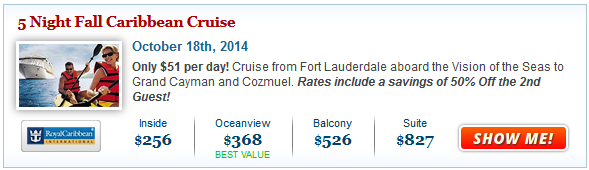 Cruise Deals: Kids Sail FREE or 50% Off the 2nd Guest