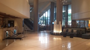 Marriott Biscayne Bay Lobby