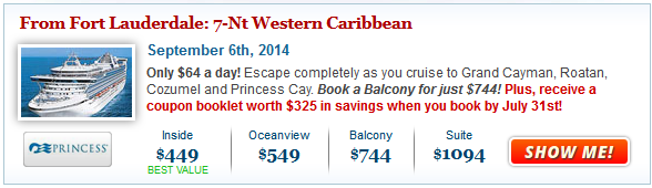 7-Nt Caribbean Cruise from $449