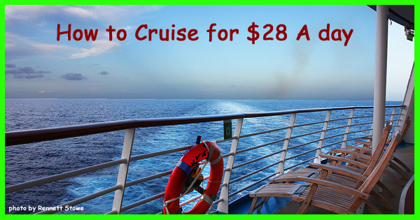 How to cruise for $28 per day
