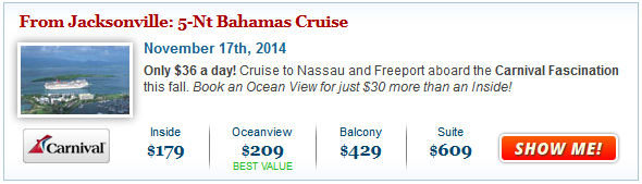 Cruise Deals: Cruises Departing from a Port Near You