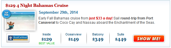 Cruise Deals: Fall Cruises from $129