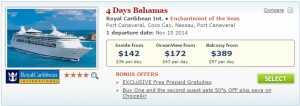 2014 Port Canaveral Cruise Deals