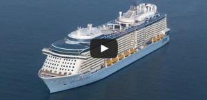 Quantum of the Seas Video from Air