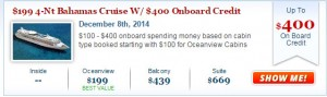 Enchantment of the Seas Deal