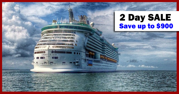 Save up to $900 on Royal Caribbean Last-Minute Cruises | 2 Day Sale