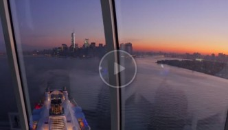 Quantum of the Seas Arriving in New York City Video