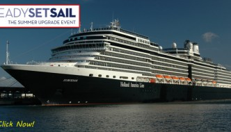 Holland America's ReadySetSail Summer Upgrade Event
